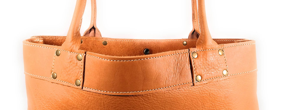 Marmalade Leather Tote