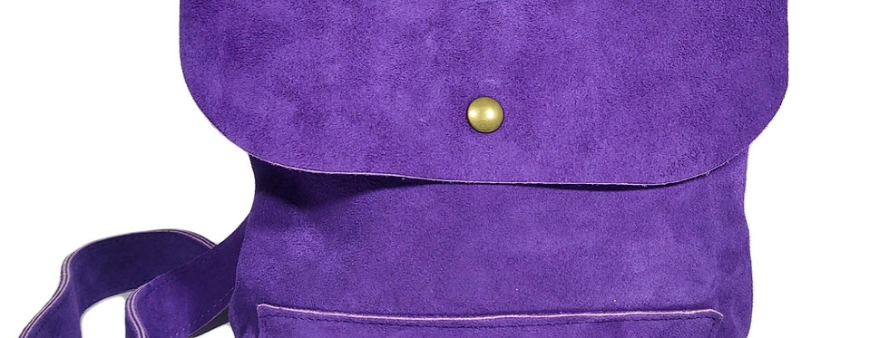 Electric Purple Satchel