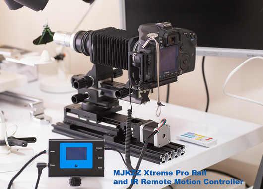 MJKZZ Xtreme Pro rail + IR Remote Controller