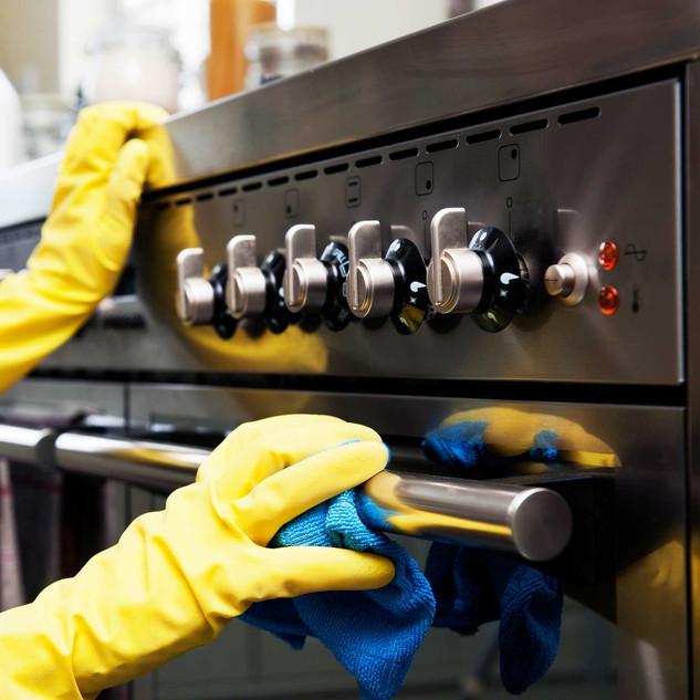 Rengøring med kvalitets kontrol