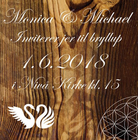 Monica & Michael inviterer (electronic edition)