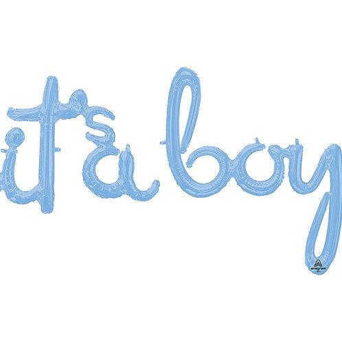 It's a Boy Script Balloon
