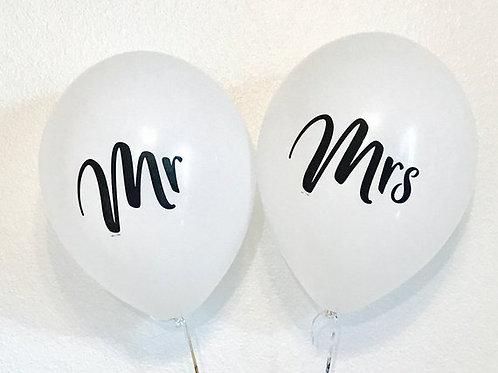 Mr. & Mrs. Latex Balloon