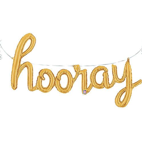 HOORAY Script Balloon