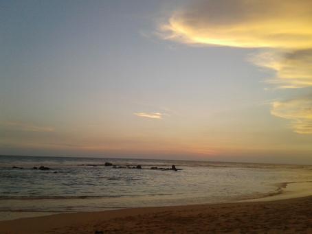 Talpe beach