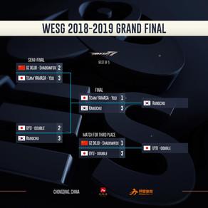 WESG2018-2019全球總決賽 鐵拳7表演賽 韓日選手分獲通用及女子組冠軍