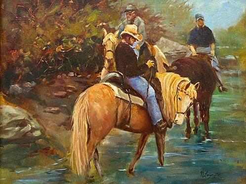 """Horse Park"" by Nancy Longmate"