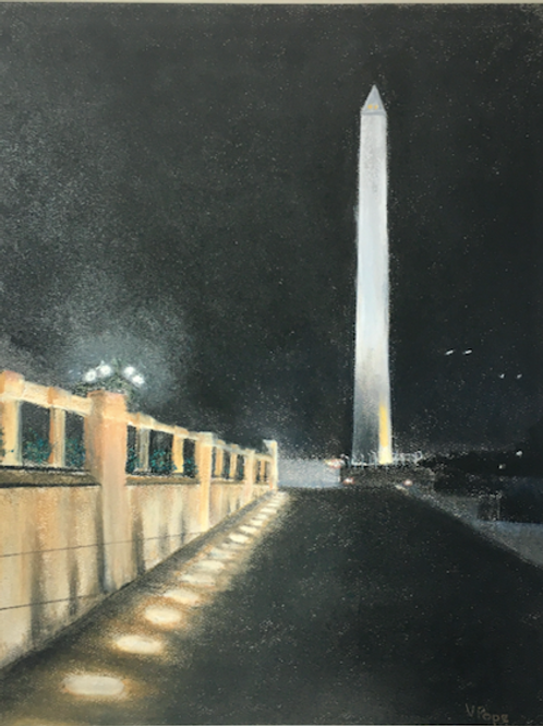 """""""Washington Monument"""" by Victoria Pope"""