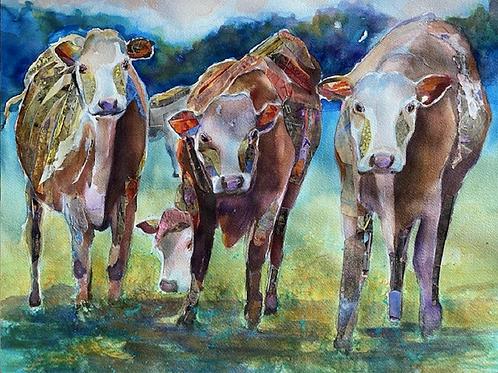 """3's Company"" by Nancy Longmate"
