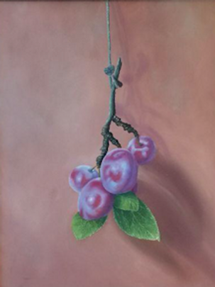 """""""A Branch of Plums"""" by Natalliz Yenza"""