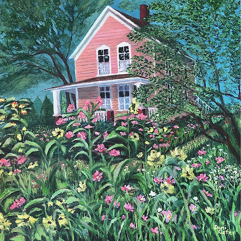 """""""Little Pink Houses for You and Me"""" by Dani Kiefer"""