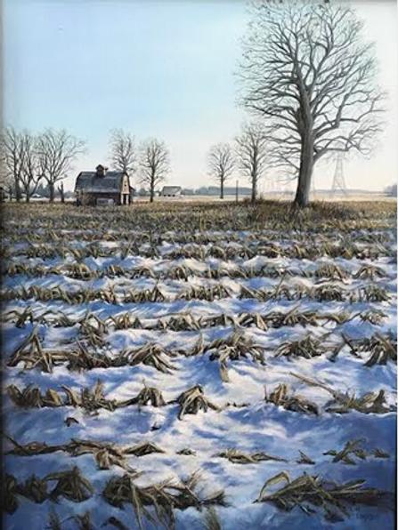 """Snowy Fields"" by Kim Linker"