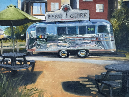 """Foodie Feeder"" by Terri Buchholz"