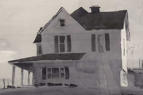 """""""House in Black and White"""" by Tom DeSomer"""