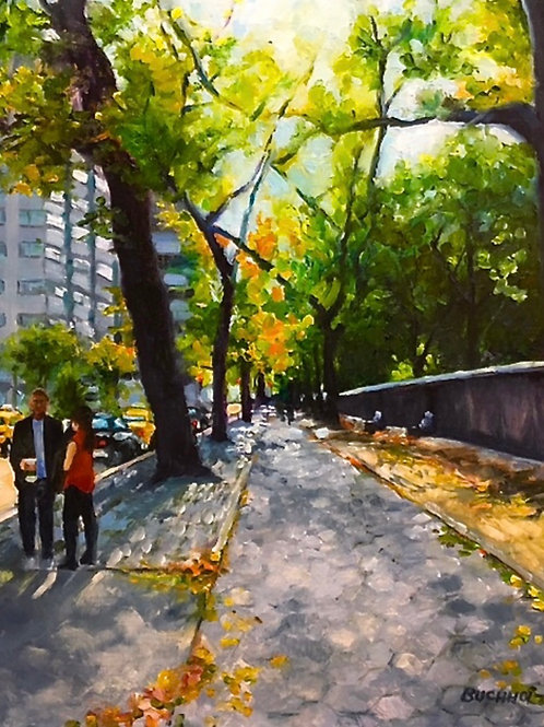 """Fall on Fifth Avenue"" by Terri Buchholz"