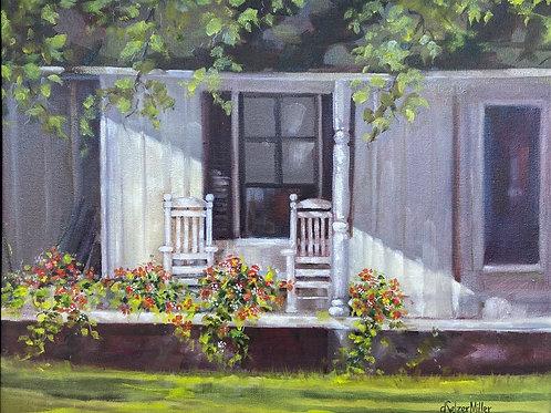 """Porch on Bayview"" by Darlene Selzer-Miller"