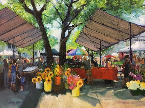 """Market Day"" by Terri Buchholz"