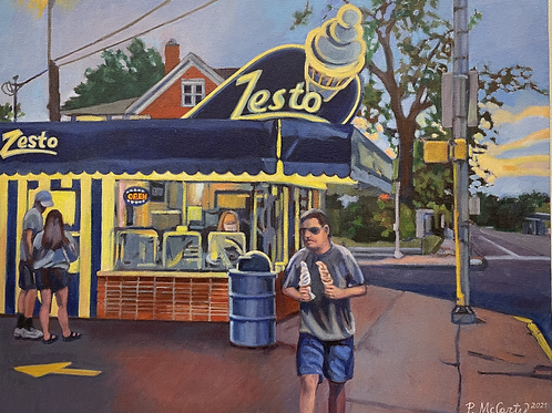 """""""Zesto"""" by Peggy McCarty"""