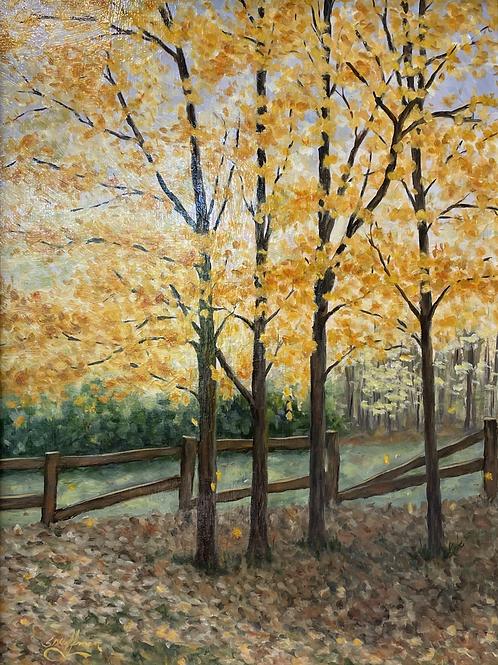 """Fence Row"" by Sam Hoffman"