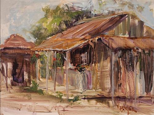 """""""Sunny Porch"""" by  Karen Bixler"""