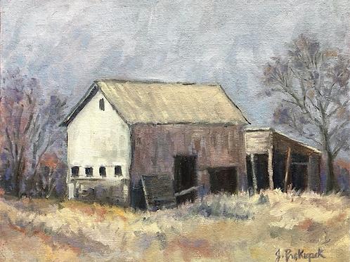"""Plein Air Barn"" by Jody Prokupek"