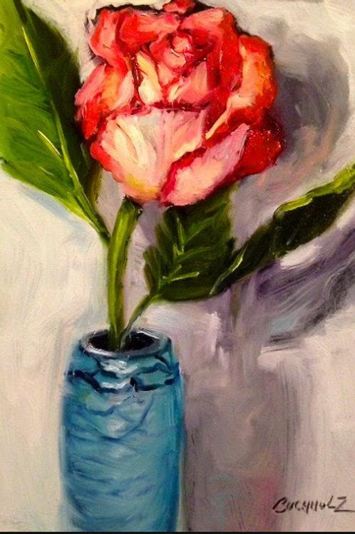 """Rose 2"" by Terri Buchholz"