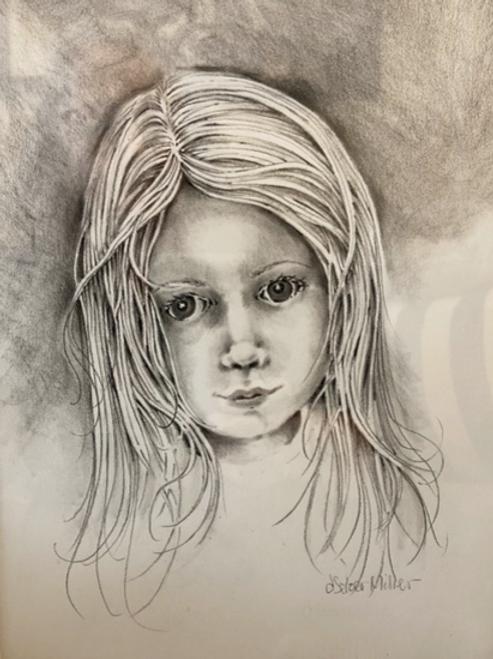 """""""Abigail"""" by Darlene Selzer-Miller"""