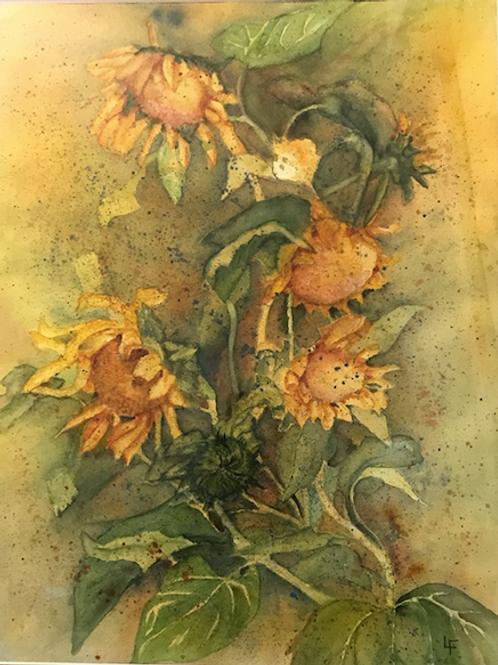"""Sunflowers"" by Linda Flatley"