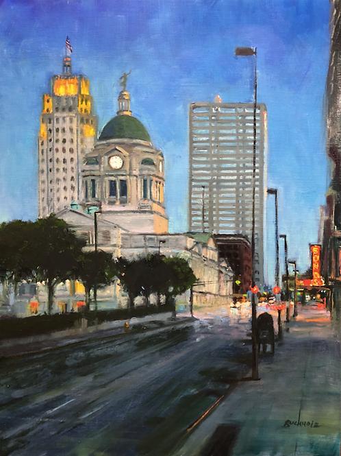 """Into the City"" by Terri Buchholz"