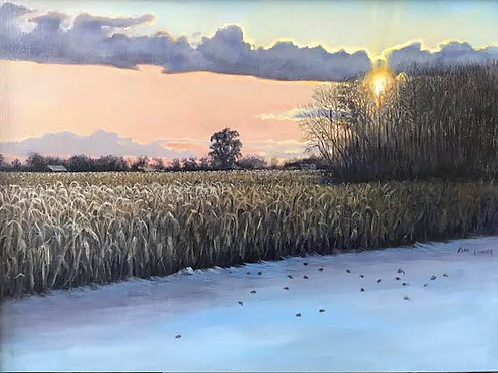 """""""Late Harvest, Early Snow"""" by Kim Linker"""