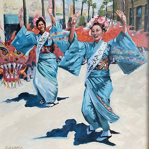 """Santa Monica Street Dance"" by Terri Buchholz"