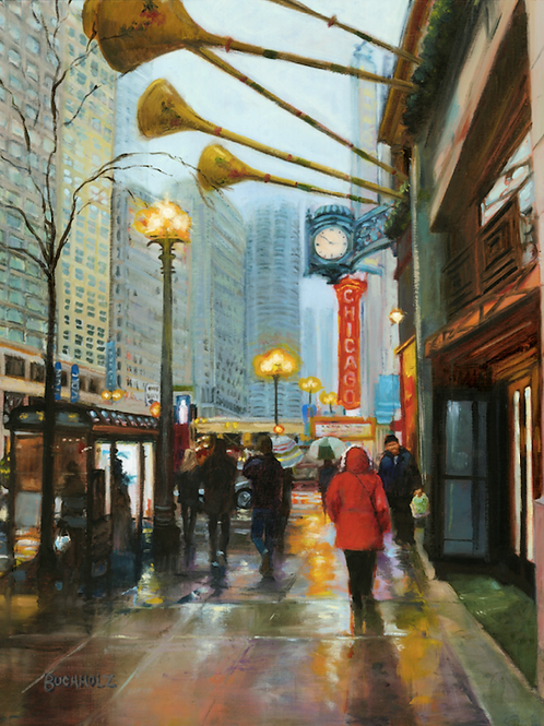 """""""December in the City"""" by Terri Buchholz"""