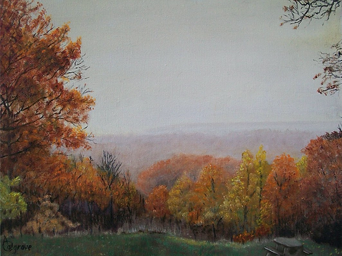 """Autumn In the Foothills"" by Annette Colgrove"