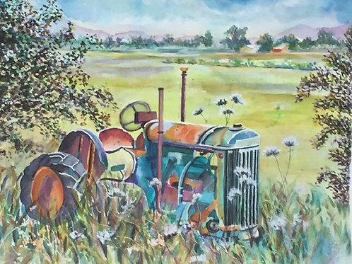 """""""Old Blue"""" by Nancy Longmate"""