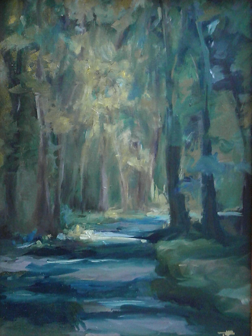 """""""Into the Woods"""" by Toni McAlhany"""