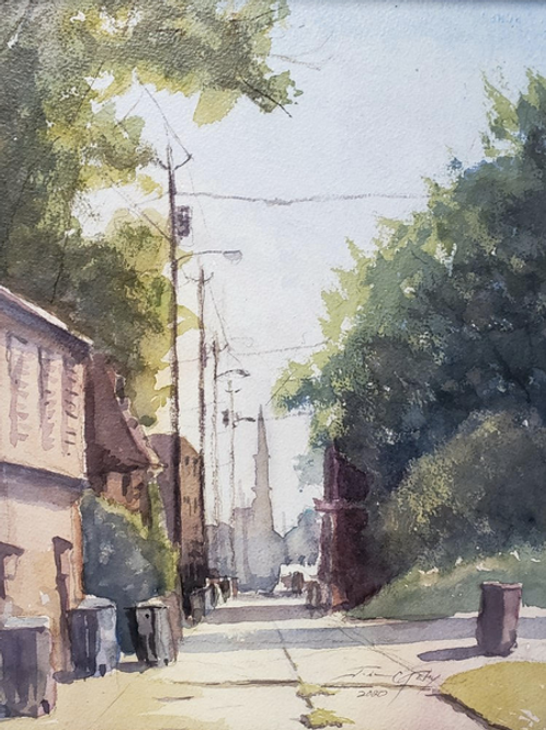 """West Central Alley"" by John Kelty"
