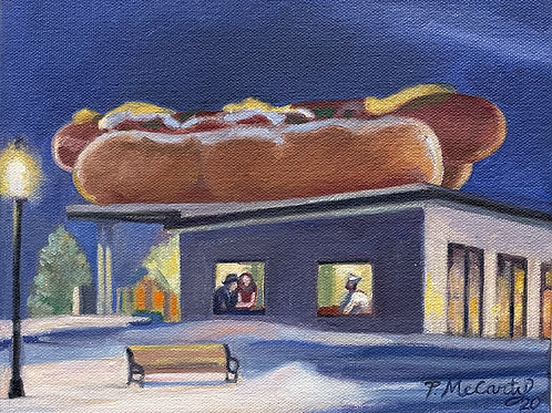 """""""Weinerlicious"""" by  Peggy McCarty"""