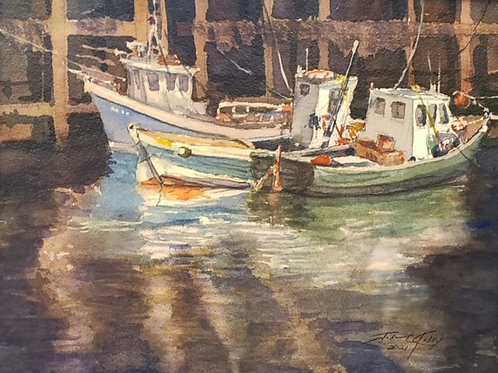 """""""Low Tide"""" by John Kelty"""