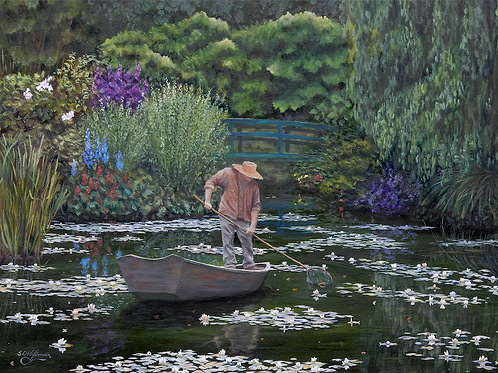 """Tending the Lilies"" by Sam Hoffman"