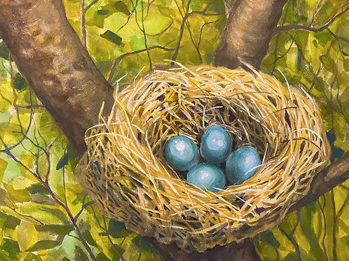"""Bird Nest"" by Darlene Selzer-Miller"