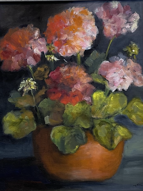 """""""Flowers in Light and Dark"""" by Toni McAlhany"""