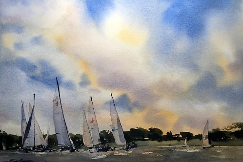 """""""Monroe Lake"""" by Tom DeSomer"""