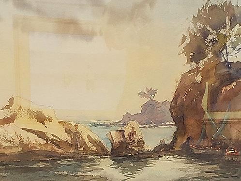 """""""Spanish Coast"""" by John Kelty"""