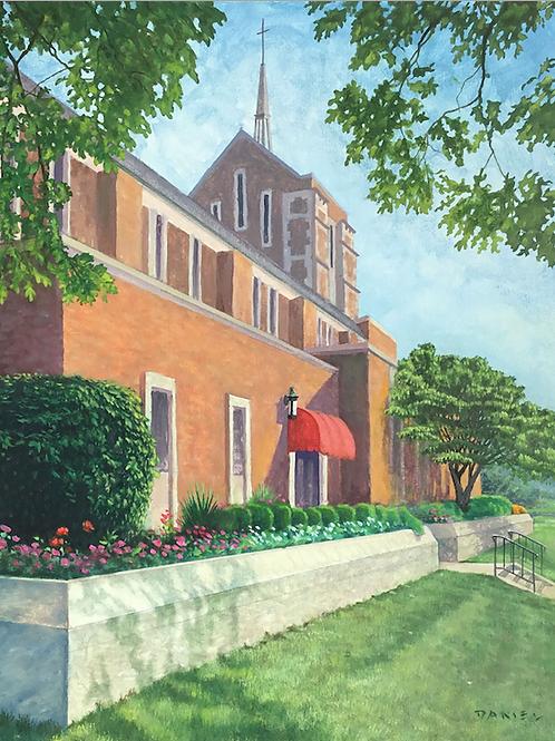 """St.John the Baptist Church"" by Daniel Bourbonnais"
