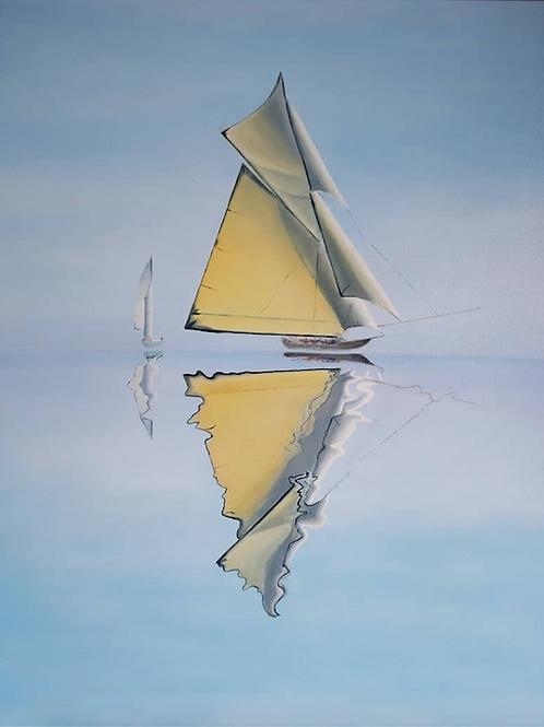 """Sailboat"" by Natallia Yenza"