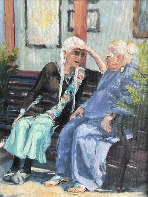 """""""Waiting for the Show"""" by Terri Buchholz"""