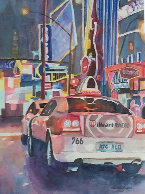 """Las Vegas at Night"" by Nancy Longmate"