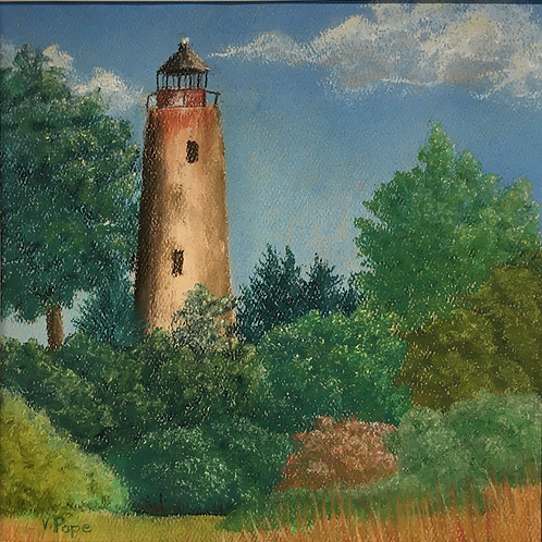 """Sapelo Island Lighthouse"" by Victoria Pope"