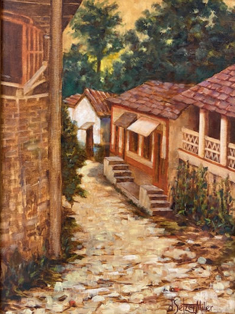 """The Village"" by Darlene Selzer-Miller"