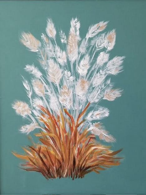 """Switchgrass Plumes"" by Mary Lou Hutter"